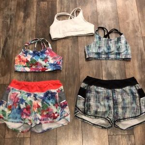 Athleta girl Lot all size 8-10